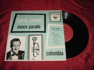 10 JAZZ LP HARRY JAMES   DANCE PARADE   COLUMBIA CL 6088