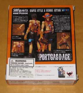 Bandai SH Figuarts(SHF) One Piece The Portgas D Ace Figure