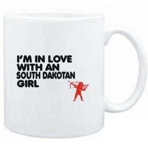 Mug White  I AM IN LOVE WITH A South Dakotan GIRL  Usa