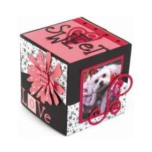Sizzix Bigz XL BIGkick/Big Shot Die, Box Cube 35/8 Inch