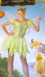Disney Tinker bell Tinkerbell Costume Juniors S 3 5 NWT