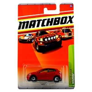 64 Scale Die Cast Car #27   Red Sub Compact Car MAZDA2: Toys & Games