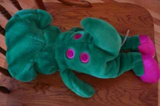 PBS Barney & Friends Baby Bop Dinosaur Plush 1992 The Lyons Group