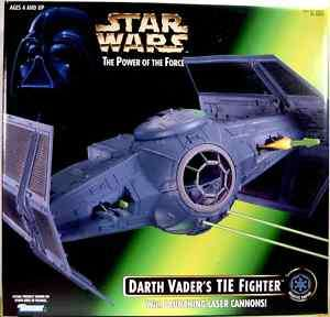 Star Wars Darth Vader POTF TIE Fighter Box Set 1996