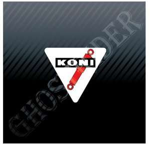 Koni Racing Shocks Track Drag Racing Sport Car Sticker