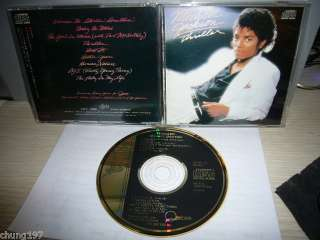 MICHAEL JACKSON THRILLER JAPAN GOLD CD 3500yen 1ST PR