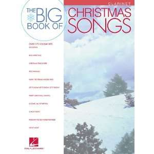 Big Book of Christmas Songs for Clarinet   Instrumental