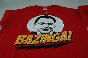 The Big Bang Theory Sheldon Bazinga t shirt