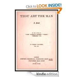 Thou Art the Man V3 Mary Elizabeth Braddon  Kindle Store