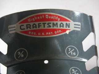Vintage Craftsman Workshop Wall Mount Wrench Holders Hot Rod