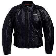 Harley Davidson Womens FXRG Leather Jacket size Plus 1W