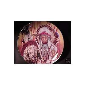 Chief of the Indian Blackfoot, Paul Calle Collector Plate