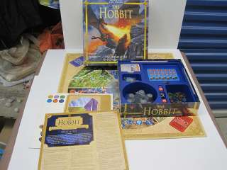 THE LORD OF THE RINGS THE HOBBIT Board Game EUC Defeat of the evil