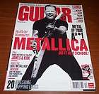 2005 ESP JAMES HETFIELD METALLICA TRUCKSTER GUITAR AD