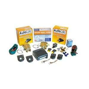 Autoloc SVPRO27 7 Channel 15 Lbs Remote Shaved Door Kit
