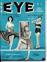 EYE MAGAZINE Aug 1960 DIANE LADD DIANA DORS BILL WARD PINUPS JOKES