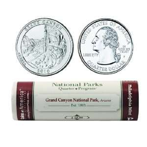 Grand Canyon National Park P Mint Quarter Roll: Everything
