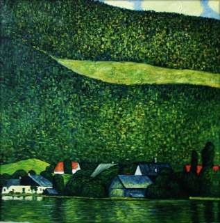 Museum Q. Hand Painted Oil Painting Repro Gustav Klimt Unterach am