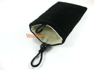 Cloth Pouch Case Bag For  Camera Phone HTC Nokia Blackberry Samsung