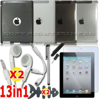 BLACK WHITE SILICONE SKIN CLEAR HARD BACK CASE WORK WITH SMART COVER