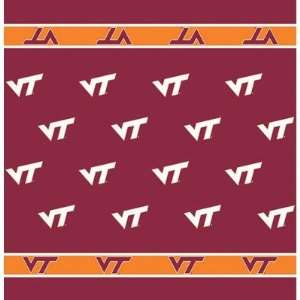 54 x 54 Collegiate Team Table Cloth Card Team Virginia