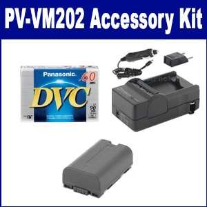 Panasonic PV VM202 Camcorder Accessory Kit includes SDM