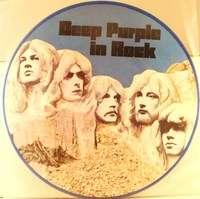 Deep Purple In Rock Czech Picture Disc Album W/O PS RARE1970 Limited