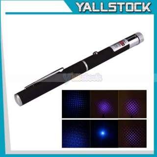 405 nm 2 in 1 Blue Violet Purple Laser Pointer Pen High Quality