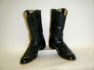 Ladies Black Justin Ropers sz 5C (#9817)