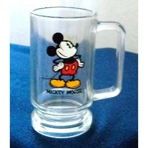 Mouse Glass Cup Mug by Walt Disney Productions