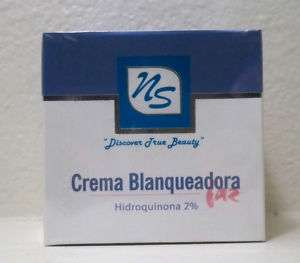 NS Whitening cream Blanqueadora crema 2% Hydroquinone