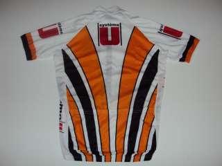 New SYSTEME U Team Cycling Road Bike Jersey size M