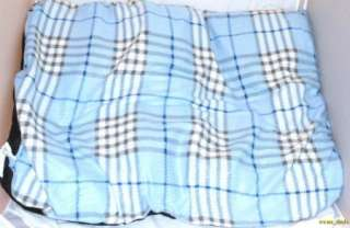 """Bow Wow Pet Bed Extra Large Fleece Dog Pet Bed 27"""" X 36"""" Blue"""