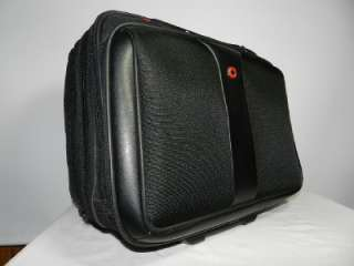 Swiss Army Wheeled Laptop Computer Carry On Telescopic Handle Luggage