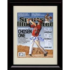 Sports Illustrated Autograph Print   Washington Nationals 6/6/2009