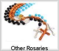 Catholic Wood bead Rosaries, Religious Rosary Necklaces items in Gifts