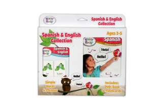 Brainy Baby Spanish Collection (DVD, Book, Flashcards)