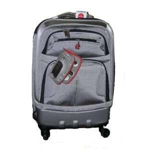 Swiss Gear Zurich Upright Carry On Luggage   Metallic