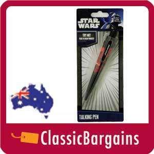 STAR WARS Darth Vader Talking Pen lightsaber breathing