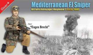 Dragon WWII 1/6 German Fallschirmjager Eugene Brecht