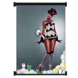 Nicki Minaj Rapper Fabric Wall Scroll Poster (16x21