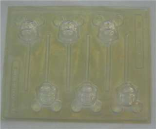 MICKEY MOUSE SUCKER LOLLY POP CANDY MOLD PAN