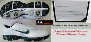 Nike Mens Air Tour Sport Golf Shoes White Size 11 M