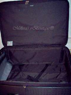 ROLLING 25 SUITCASE LUGGAGE EXPANDABLE   NWT bag suit case set