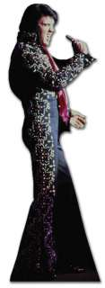 King Elvis Presley stand up life size cardboard cut out – Black Jump