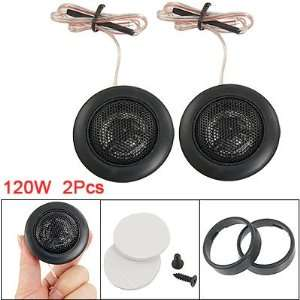 Dia Black Dome Tweeters Car Audio Speaker 2 Pcs Car Electronics
