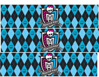Monster High  Cake Decorating Bands (3per pkg)  Edible Photo Cake