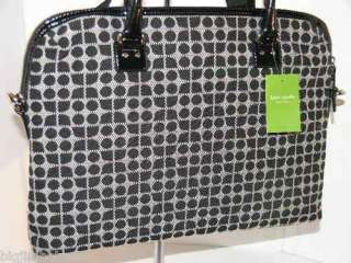 New KATE SPADE Classic Noel Calista Fabric Laptop Bag