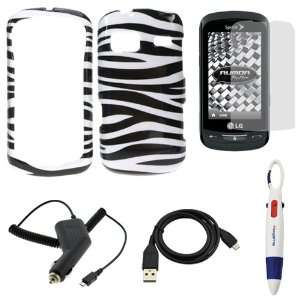 Sync Data Cable + Pen with 4 Colors for Sprint, Boost Mobile LG Rumor