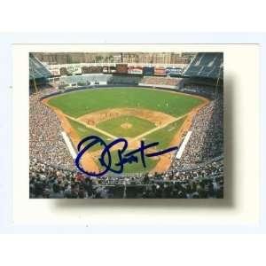 Joe Pepitone Autographed/Hand Signed postcard (New York